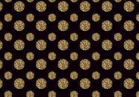 Pattern di puntini vettoriali glitter gratuito