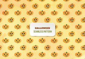 Reticolo libero delle zucche dell'acquerello di Halloween di vettore