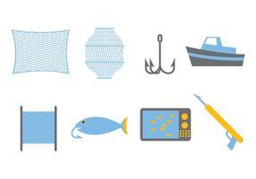 Insieme di vettore di pesca
