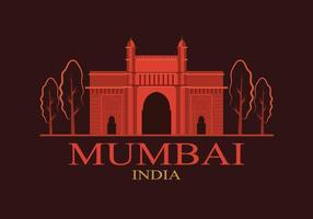 Illustrazione di Mumbai gratis vettore
