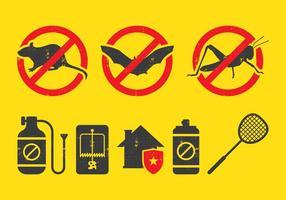 Icona di controllo dei parassiti