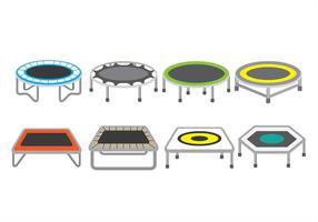 Icone di trampolino vettore