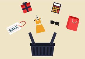 Shopping gratuito vettoriale
