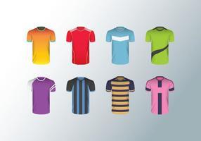 vettore di maglia da calcio