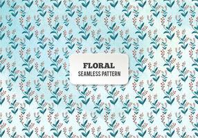 Modello floreale dell'acquerello di vettore gratuito