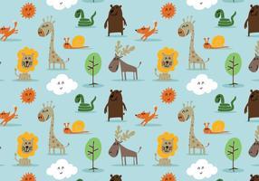 modello animale foresta carino