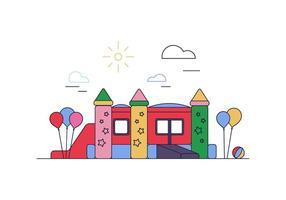 Bounce House Vector gratuito