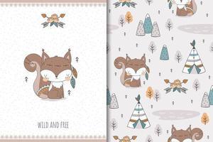 scoiattolo selvaggio e libero
