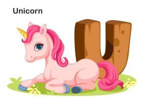 u di legno per unicorno