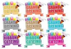 Titoli Grand Opening