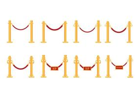 Velvet Rope Vector gratuito