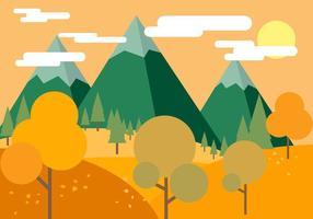 Bella vettoriale autunno