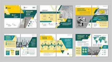 modello di brochure creativa