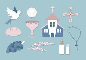 Set di icone di comunione gratis