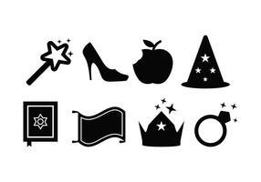 Icone di fantasia vettore