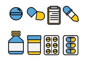 Vettore del cuscinetto di prescrizione