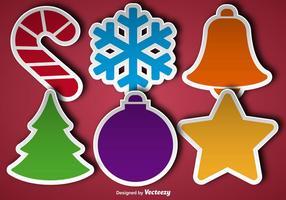 Icona di adesivi di Natale