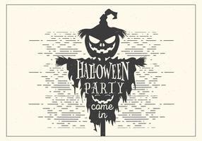 vettore di festa di halloween scuro