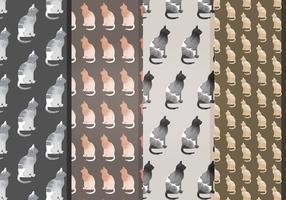 modelli di gatti vettoriali