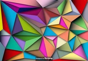 Sfondo vettoriale poligonale