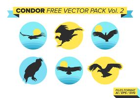 Siluette di Condor Free Vector Pack Vol. 2