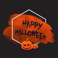 grunge sfondo di halloween vettore