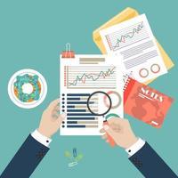 analisi dei dati di audit vettore