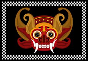 Illustrazione di vettore di Barong Bali