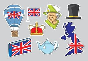 Libero Queen Elizabeth Icons Vector