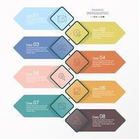 infografica diamante di base e icone di lavoro