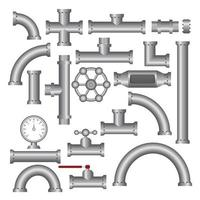 raccordi per tubi in acciaio vettore