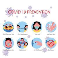 metodi di protezione dal coronavirus vettore