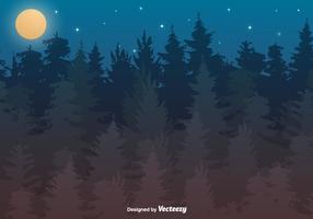 Illustrazione di foresta vettoriale