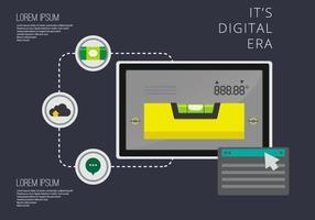 Livello vettoriale in era digitale