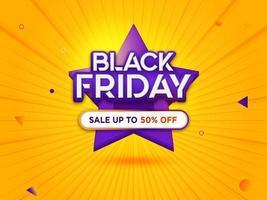 vendita venerdì nero con sfondo moderno