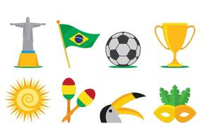 Samba icone vettoriali