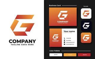 set di branding iniziale g