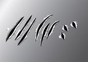 vettore di lacrima di metallo