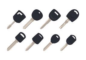Pacchetto di chiavi per auto gratuito vettore