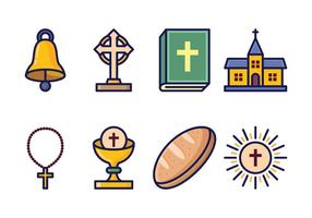 Set di icone eucaristia gratis
