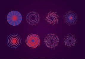 Vettore libero illusione portale