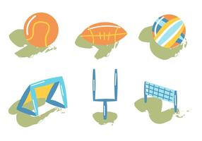 Netball gratuito vettore