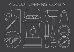 Icone vettoriali gratis scout