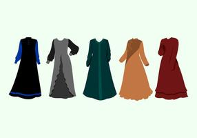 abaya vettoriali gratis
