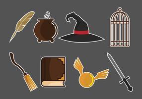 Raccolta di elementi di magia e stregone