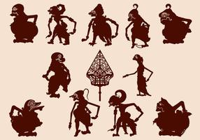 Marionetta giavanese Wayang Kulit