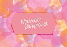 Vector sfondo acquerello rosa
