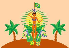 Samba Icon Vector