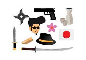 Yakuza Vector gratuito