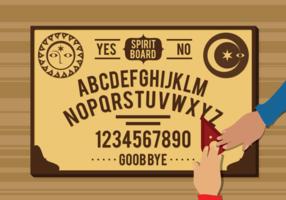 Vettore del bordo di Ouija